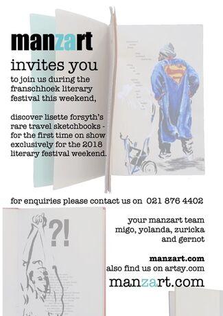 special literary festival sketchbooks | lisette forsyth, installation view