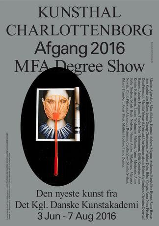 Afgang 2016 / MFA Degree Show 2016, installation view
