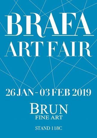 Brun Fine Art at BRAFA 2019, installation view