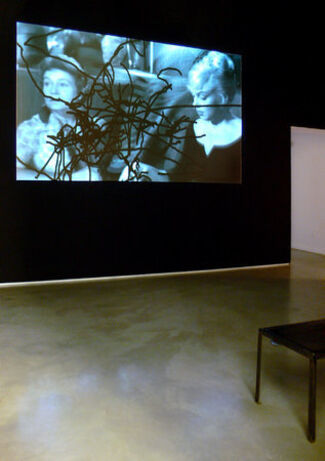 """Pierre Bismuth - """"One man's masterpiece is another man's mess"""", installation view"""