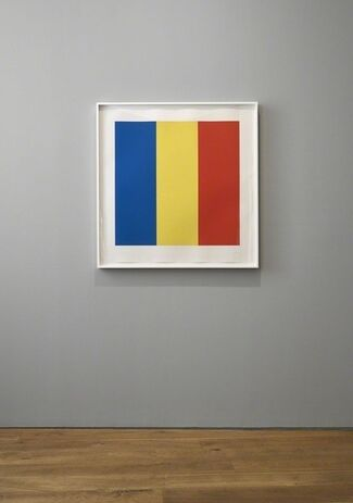 Ellsworth Kelly – Twelve colour prints from the artist's own collection, installation view
