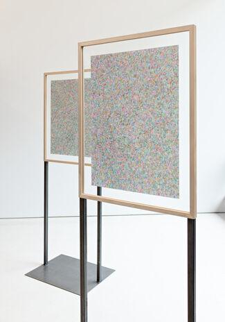 URS HOLZGANG «STRICHELN UND ZEICHNEN», installation view