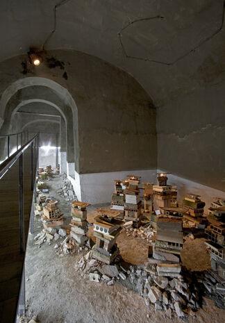 Bruno Ceccobelli - Longamarcia Post - Temporale, installation view