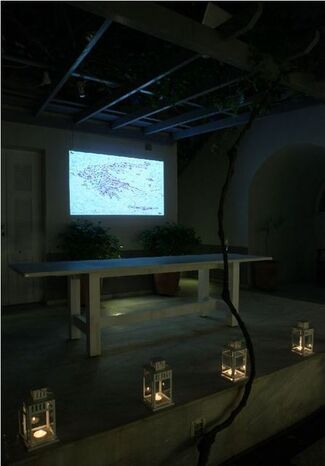 Constantin Xenakis: NO WAY OUT - Visual Records: Maps and Codes, installation view