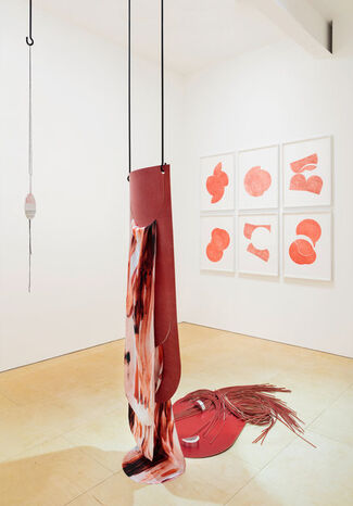 Claire Barclay 'Longing Lasting', installation view