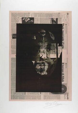 Shozo Shimamoto - late works, installation view