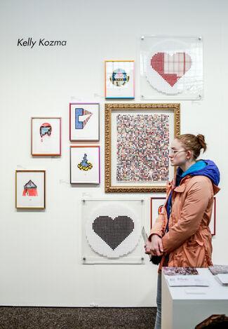 Paradigm Gallery + Studio at Art on Paper New York 2017, installation view