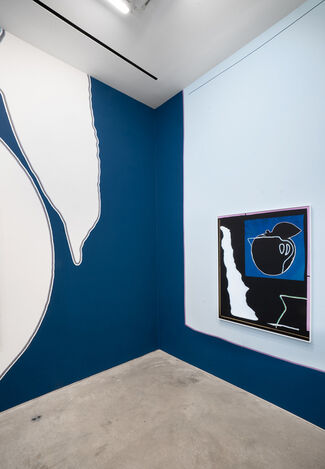 Blue Room, installation view