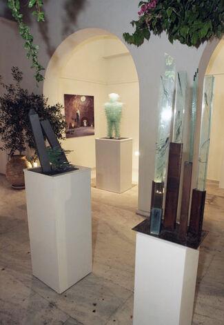 Costas Varotsos: Sculptural Palimpsests, installation view