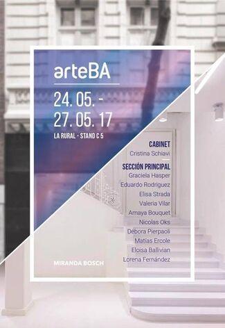 Miranda Bosch at arteBA 2017, installation view