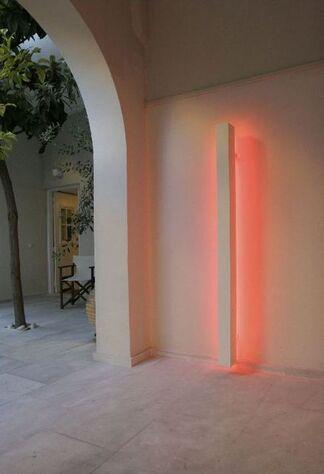 Stephen Antonakos, installation view