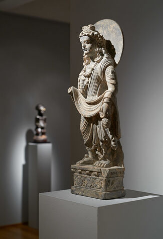 Fine Sculpture from Three Continents, installation view