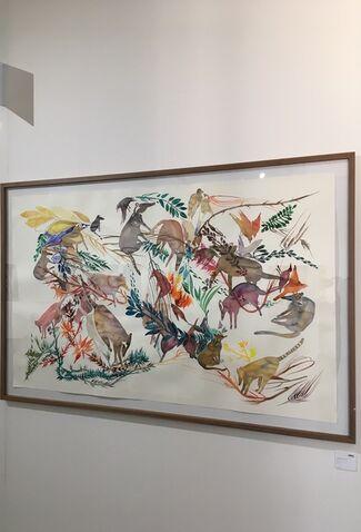 OSME Gallery at Art Pampelonne presqu' Île de Saint-Tropez 2017, installation view