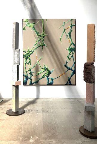 QB Gallery at Enter Art Fair 2020, installation view