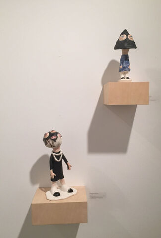Conduit Gallery at Dallas Art Fair 2015, installation view