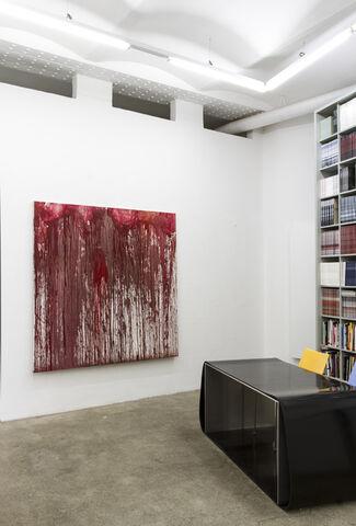 Hermann Nitsch & Julian Schnabel, installation view