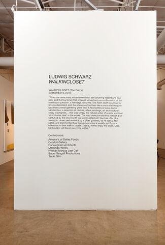 Ludwig Schwarz WALKINCLOSET, installation view
