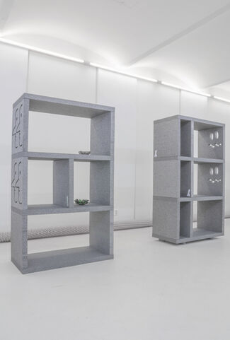 THE SEVEN-HANDED WIZARD, installation view