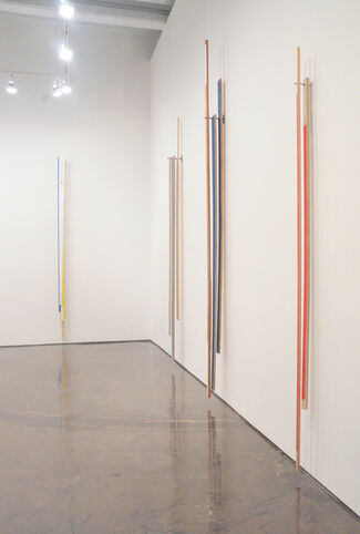 Russell Maltz: Painted / Stacked / Suspended, installation view