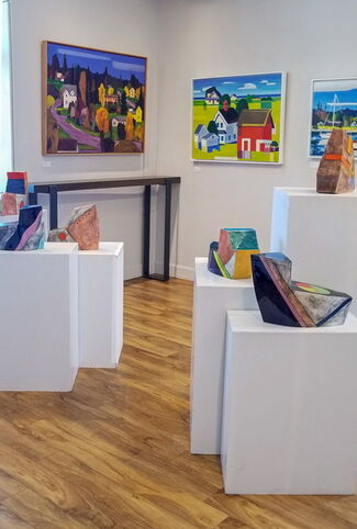 Simplified Forms, installation view