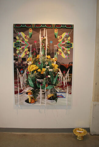 """Toby Barnes: """"Altared States"""", installation view"""