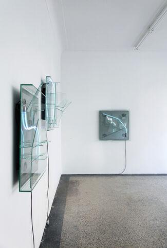 Prozession der Schatten (Parade of Shadows), installation view