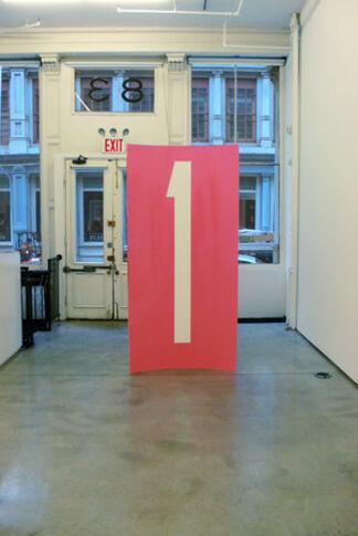 """Gardar Eide Einarsson, Davis Rhodes and Stanley Whitney - """"Einarsson, Rhodes, Whitney"""", installation view"""