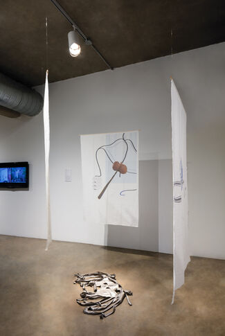 Island Time: Galveston Artist Residency, The First Four Years, installation view