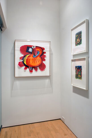 Elizabeth Murray: Selected Works, installation view