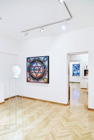 The Rainbow Serpent, installation view