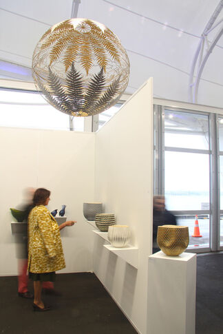 Milford Galleries Dunedin and Queenstown at Auckland Art Fair 2018, installation view
