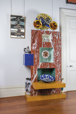 POETRY in MOTION: Ceramics by Jean Lurçat and Paintings by Georges Bernède, installation view