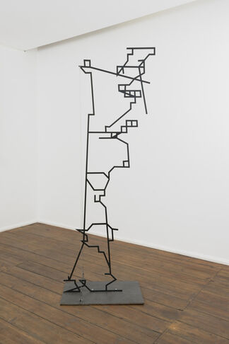 Humans Construct by Dan Stockholm, installation view