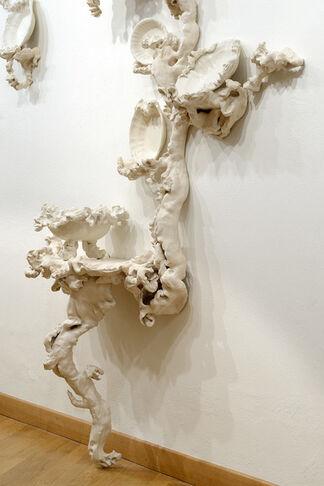 Sissi. Bone motifs, installation view