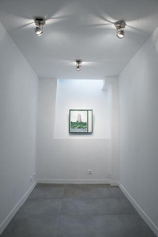 La Peinture Sillonée, installation view