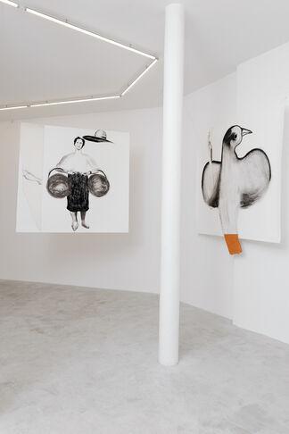 Enzo Cucchi, installation view