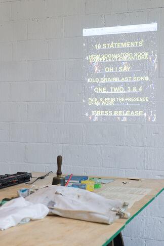Tom Barnett The Beautiful Game, installation view