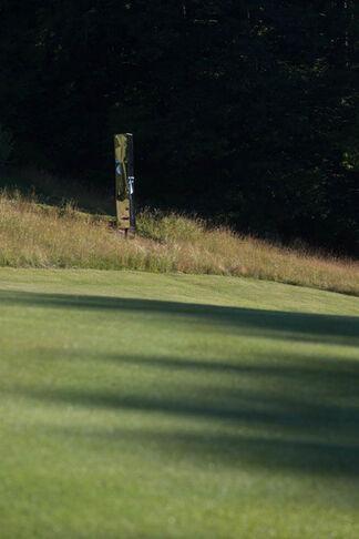 Skulpturenpark Golfclub Dellach, installation view
