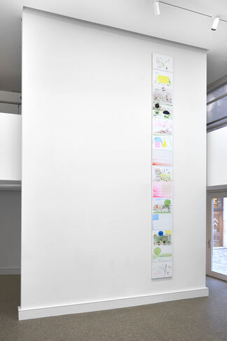 """Charlotte Herzig // It has no name, so I style it """"The Way"""", installation view"""