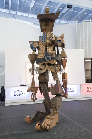 Joshua Liner Gallery at Art on Paper 2015, installation view
