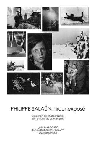 PHILIPPE SALAÜN, exposed printer, installation view