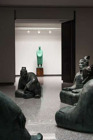 Liu Ruowang Paintings and Sculptures 2007 - 2017, installation view