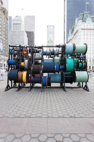 Public Art Fund, Tatiana Trouvé: Desire Lines, installation view