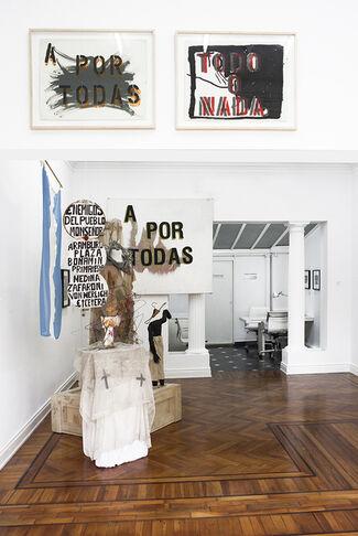 El Pais es la Memoria, installation view