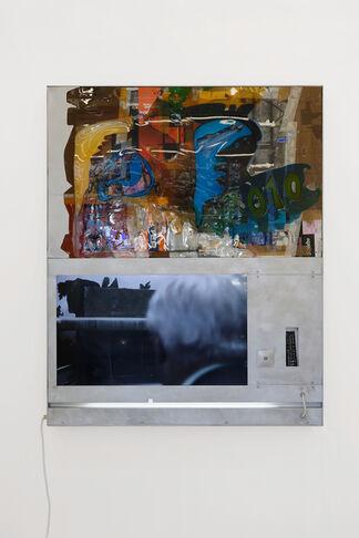 """Neïl Beloufa """"Content Wise"""", installation view"""