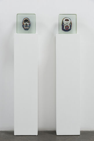 """Beheaded"", installation view"