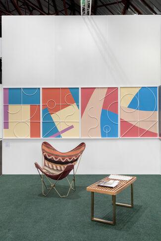 Derouillon at Art Los Angeles Contemporary 2019, installation view
