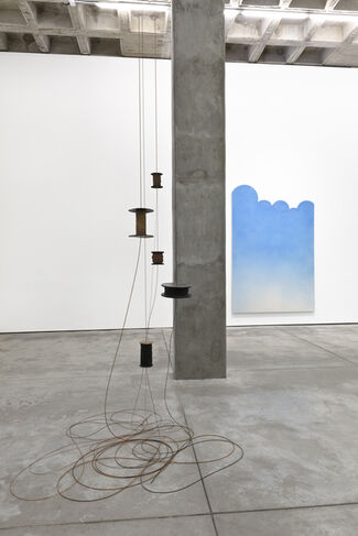 [The Queen Falls., installation view