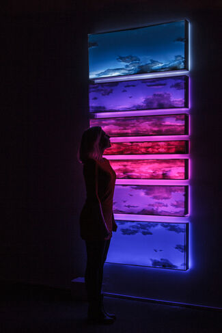 Skies, installation view