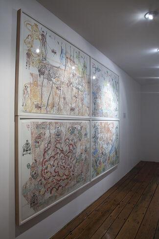 Daniel Heyman: Summer Fall Winter Spring, installation view